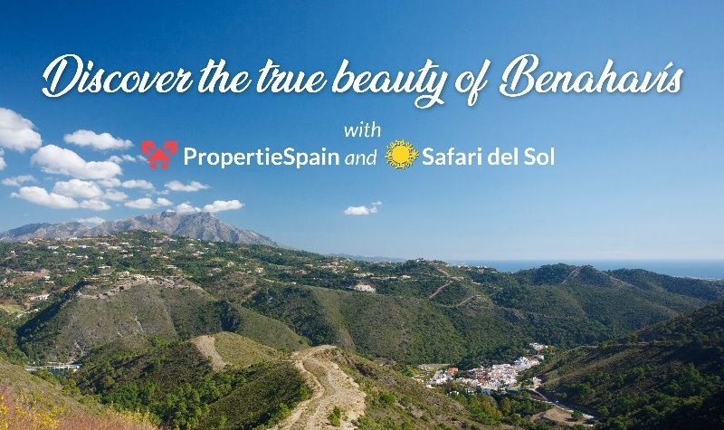 ALL property enquiries made via www.propertiespain.com (whether purchasing or selling) will be entered into a FREE draw to win a 4×4 safari experience.